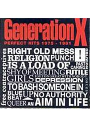 Generation X - Perfect Hits 1975-1981 (Music CD)