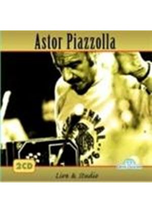 Astor Piazzolla - Live And Studio (Music CD)