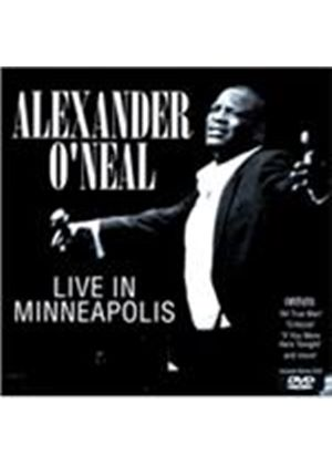 Alexander O'Neal - Live In Minneapolis (CD + DVD) (Live Recording/+DVD)