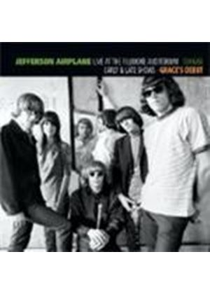 Jefferson Airplane - Live At The Fillmore Auditorium (16/10/1966 Grace's Debut) (Music CD)