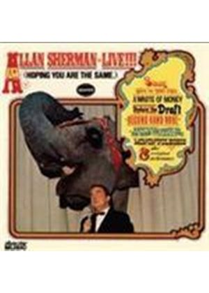 Allan Sherman - Allan Sherman Live (Hoping You Are The Same) (Music CD)
