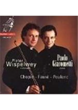 Wispelwey plays Chopin, Fauré & Poulenc