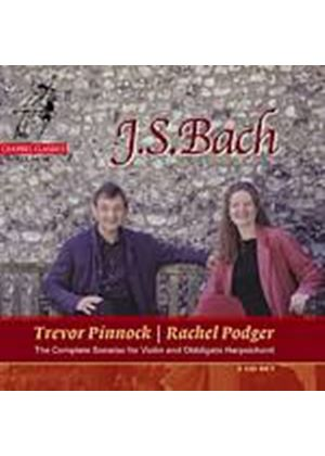 Johann Sebastian Bach - Violin And Continuo Sonatas-Podger (Pinnock) (Music CD)