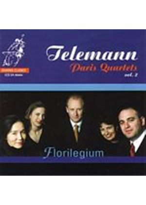 Georg Philipp Telemann - Paris Quartets Vol. 2 (Florilegium) [SACD/CD Hybrid] (Music CD)