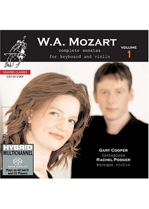 Mozart: Complete Sonatas for Violin and Keyboard, Vol 1 [SACD]