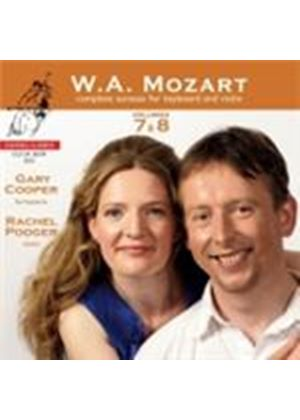 Mozart: Violin Sonatas Vols 7 and 8 (Music CD)