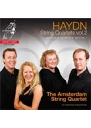 Haydn: String Quartets, Vol 2 (Music CD)