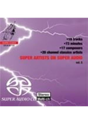 Super Artists on Super Audio, Vol 5 (sampler) (Music CD)