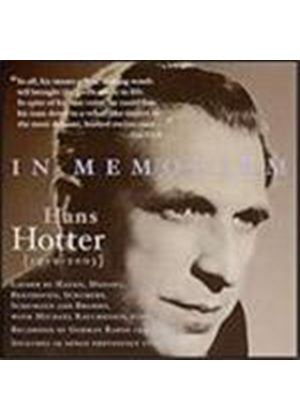 In Memoriam Hans Hotter