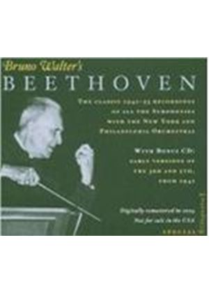 Bruno Walter conducts the complete Beethoven Symphonies