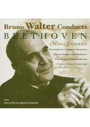 Bruno Walter conducts Beethoven's Missa Solemnis
