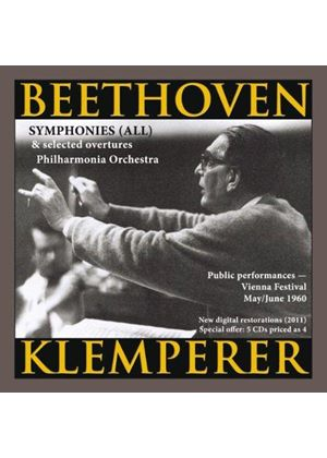 Beethoven: Symphonies (All) & Selected Overtures (Music CD)