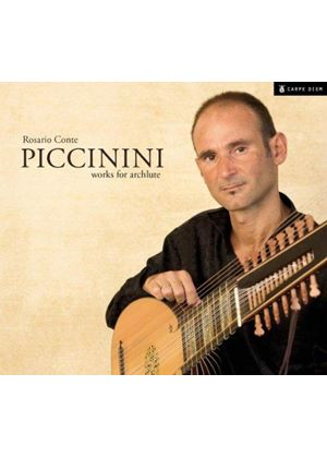 Alessandro Piccinini: Works for Archlute (Music CD)