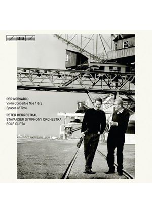 Per Nørgård: Violin Concertos Nos. 1 & 2; Spaces of Time (Music CD)