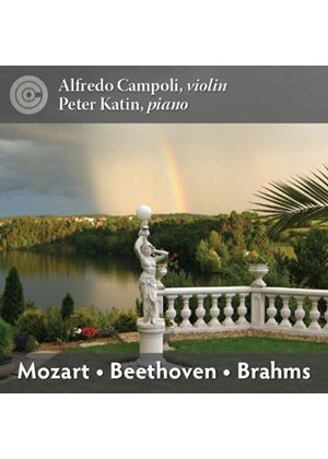 Mozart, Beethoven, Brahms: Pieces for Violin & Piano (Music CD)