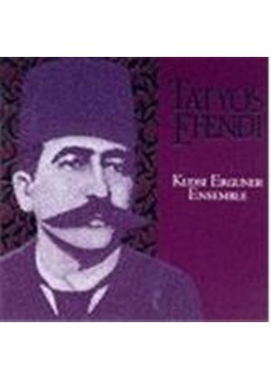 Kudsi Erguner Ensemble - Instrumental Works Of Kemani Tatyos Efendi