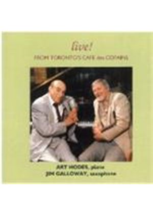 Various Artists - Art Hodes With Jim Galloway...-...Live F