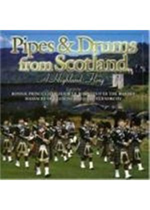 Various Artists - Pipes And Drums From Scotland - A Highland Fling (Music CD)