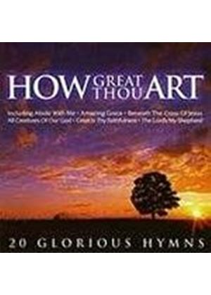 Various Artists - How Great Thou Art - 20 Glorious Hymns (Music CD)