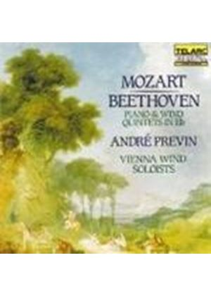 Beethoven; Mozart: Quintets for Piano & Wind Instruments