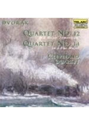 Dvorák: String Quartets Nos 12 and 14