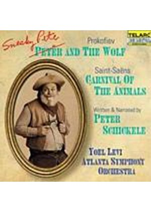 Peter Schickele - Sneaky Pete And The Wolf And Carnival Of The Animals (Levi) (Music CD)