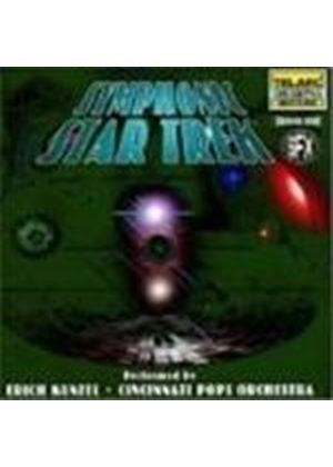 Cincinnati Pops Orchestra - Star Trek - Symphonic Star Trek (& Star Trek Sound Effects/Bonus Star Trek PC Games CD-Rom)