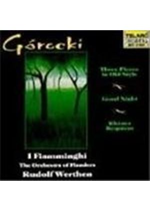 Górecki: Vocal and Orchestral Works