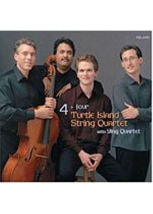 Turtle Island String Quartet - 4 Plus 4 (Music CD)
