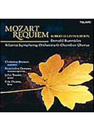Wolfgang Amadeus Mozart - Requiem (Runnicles, Atlanta SO & Chorus) (Music CD)