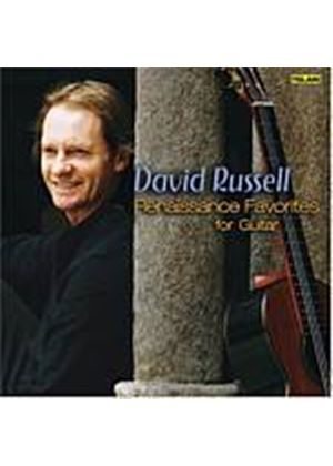 David Russell - Renaissance Favorites For Guitar (Music CD)