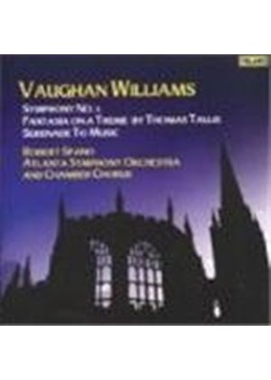 Ralph Vaughan Williams - Symphony No. 5, Fantasia On A Theme By Thomas Tallis (Spano) (Music CD)