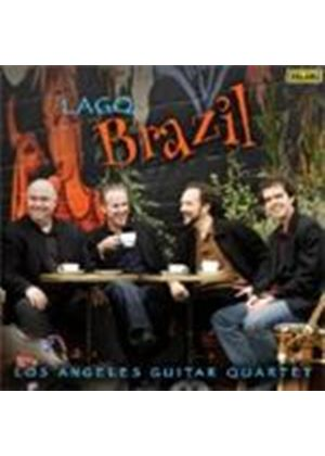 Los Angeles Guitar Quartet - Brazil! (Music CD)