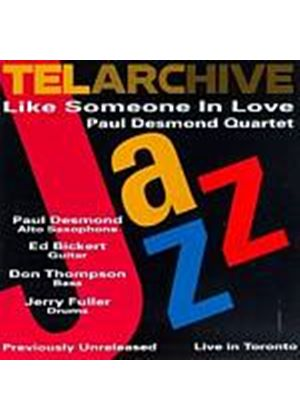 Paul Desmond Quartet - Like Someone In Love (Music CD)