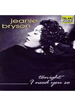 Jeanie Bryson - Tonight I Need You So (Music CD)