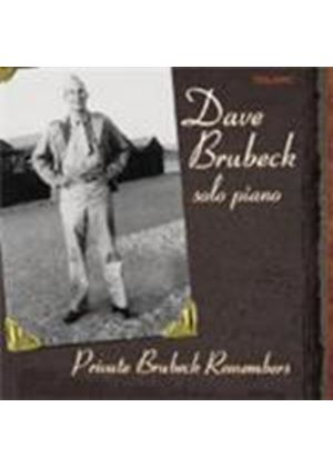 Dave Brubeck - Private Brubeck Remembers