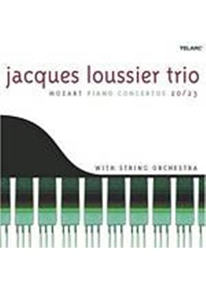 Jacques Loussier Trio With String Orch. - Mozart Piano Concertos 20/23 (Music CD)