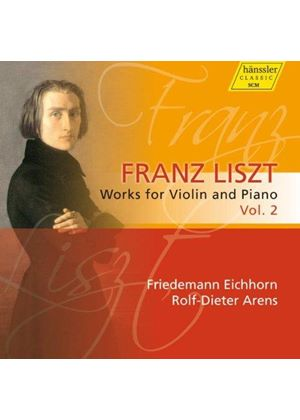 Liszt: Works for Violin & Piano, Vol. 2 (Music CD)