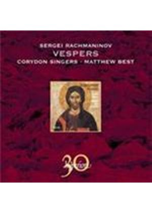 Rachmaninov: Vespers (Music CD)
