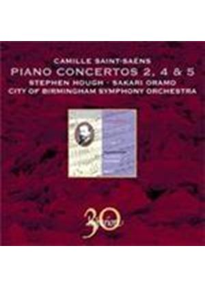Saint-Saens: Piano Concertos Nos. 2, 4 and 5 (Music CD)