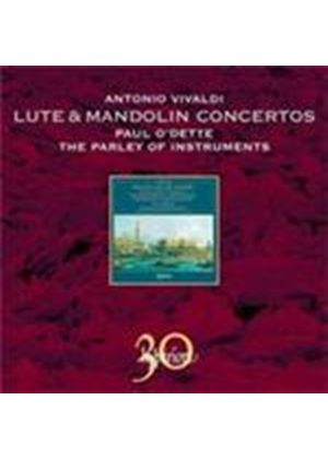 Vivaldi: Lute and Mandolin Concertos (Music CD)
