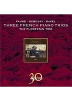 Faure; Debussy; Ravel: Piano Trios (Music CD)