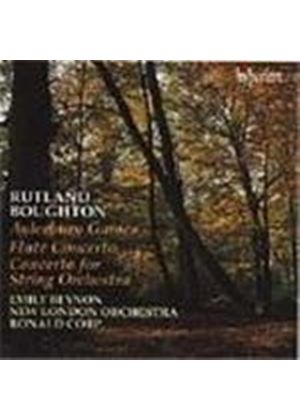 Boughton: Flute Concerto. Aylesbury Games etc