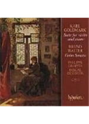 Goldmark/Walter: Violin Sonata and Suite