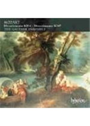 Mozart: Divertimenti K247 and K334