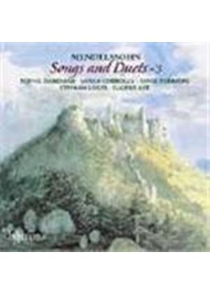 Mendelssohn : Songs and Duets, Vol 3