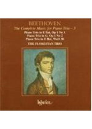 Beethoven: (The) Complete Music for Piano Trio, Vol 3