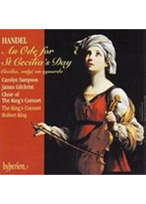 George Frideric Handel - An Ode For St Cecilias Day (King, Kings Consort, Sampson) (Music CD)