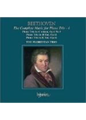 Beethoven: (The) Complete Music for Piano Trio, Vol 4