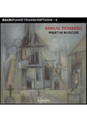 Bach/Feinberg - Bach Piano Transcriptions - 4 (Roscoe) (Music CD)